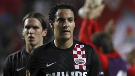 HJEM IGJEN: Otman Bakkal vender tilbake til Nederland og Feyenoord.   (Foto: Francisco Seco/Ap)