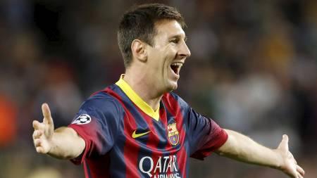 SKADET:   Barcelona må klare seg uten Lionel Messi de neste kampene. (Foto: Emilio   Morenatti/Ap)