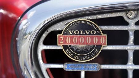 Dette grillmerket kom på allerede i 2002. Da passerte bilen 2 millioner miles.