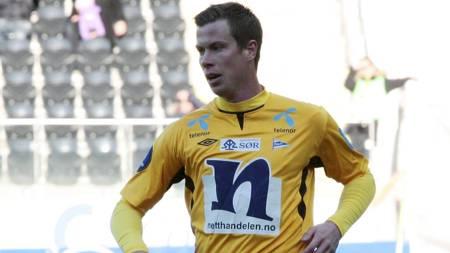 TIPPELIGAENS STERKESTE? Jesper Mathisen er ifølge FIFA 14 den   sterkeste spilleren i Tippeligaen. (Foto: Schrøder, Tor Erik/NTB scanpix)