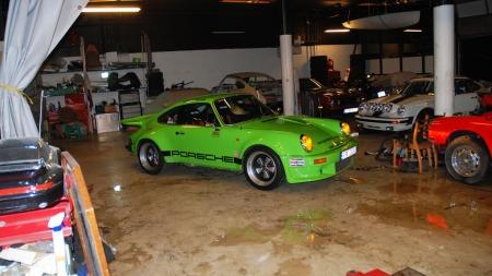 Porsche-911-RSR-garasje (Foto: Benny Christensen)