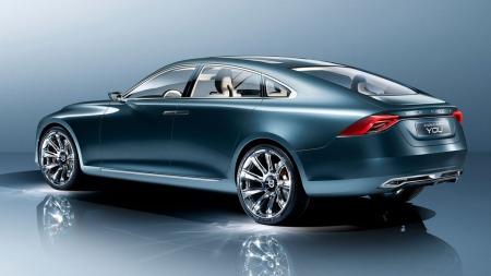 Concept You er en langstrakt og sporty bil - og vi kommer helt sikkert til å se designelementer her i den nye storbilen S100.
