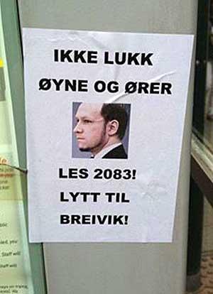 Den siste tiden har høyreekstremister satt opp flere plakater i Oslo.