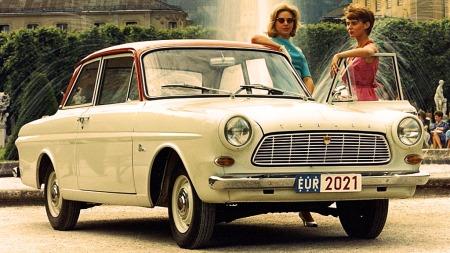 Ford Taunus 12M fra 1962 med forhjulkstrekk