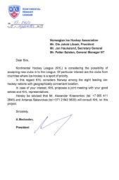 BEVIS: Dette brevet hadde den påståtte KHL-representanten med seg fra Alexander Medvedev.