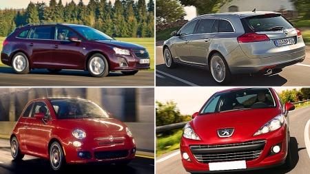 Dette er noen av de bilmerkene som har flest misfornøyde kunder. Illustrasjonsbilder.