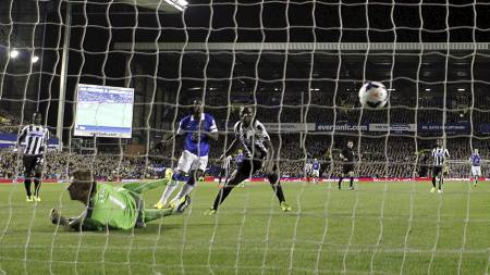HERJET: Everton's Romelu Lukaku (Foto: Peter Byrne/Pa Photos)