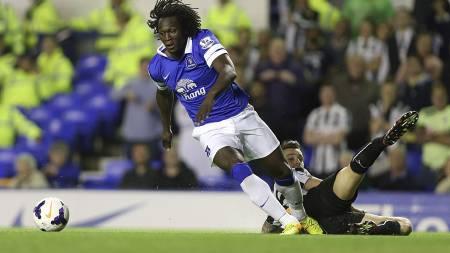 STORSPILTE: Romelu Lukaku storspilte mot Newcastle. (Foto: Lynne Cameron/Pa Photos)
