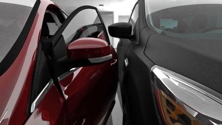 En ting er å lirke bilen inn i en trang luke - du skal jo helst komme deg ut av den også uten å lage riper eller parkeringsbulker. Det problemet blir også eliminert når bilen parkerer seg selv.