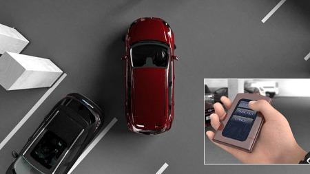 Trange parkeringsluker blir en lek med det nye systemet som Ford nå er i ferd med å utvikle. Du holder bare nede knappen på fjernkontrollen - så parkerer bilen seg selv.