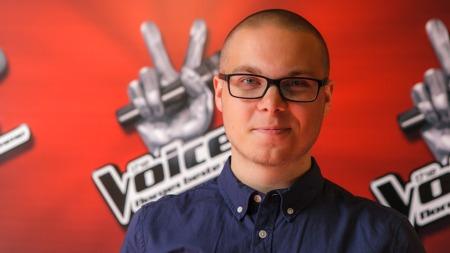 Geirmund Hansen i The Voice (Foto: Robert Dreier Holand/TV 2)