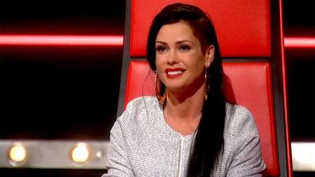 Lene Nystrøm i The Voice (Foto: TV 2)