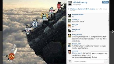 MANGE LIKES: Emmanuel Frimpong fikk mange tomler opp etter å ha lagt ut dette bildet på Instagram. (Foto: Instagram: @officialfrimpong)