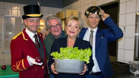 Nikis Theophilakis, Nils Vogt, Anette Hoff og Kim Kolstad  (Foto: Marit Grøtte)