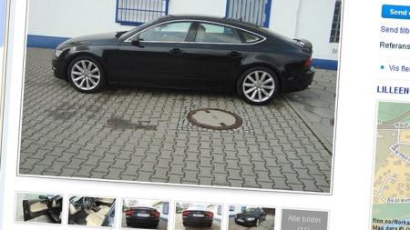 Audi A7 annonsen