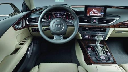 Audi kan dette med interiør - men i trauste Norge er det nok noen som vil synes at det beige interiøret blir litt vel
