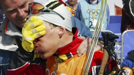 SKANDALE: Johan Mühlegg sto for en av OL-historiens største dopingskandaler i Salt Lake City. (Foto: Johansen, Erik/NTB scanpix)