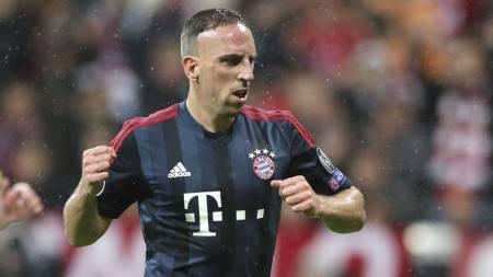 Ribery (Foto: Matthias Schrader/Ap)