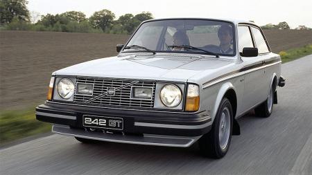 Volvo 242 GT er uvanlig spesialversjon av 240 som kun ble lagd i 1978 og 1979.