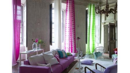 tricia_pinkgreen (Foto: Fra boken «Farger» av Tricia Guild,   Gyldendal forlag)