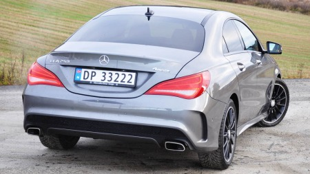 Mercedes CLA bakfra