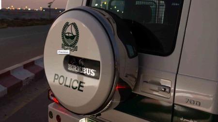 Ikke en helt alminnelig politibil, nei. Politiet i Dubai har tydeligvis ganske romslige budsjetter når de handler inn biler!