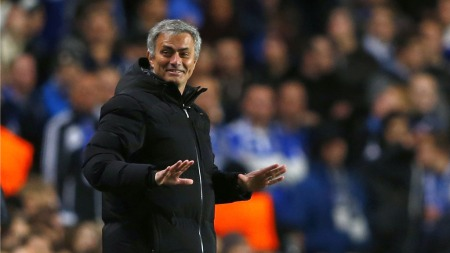 Jose Mourinho (Foto: EDDIE KEOGH, ©KFD/mel)