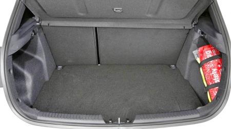 Kia Cee'd GT interiør bagasjerom