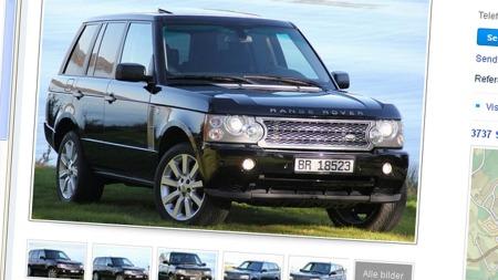 Range Rover annonse