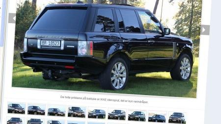 Range Rover annonse II