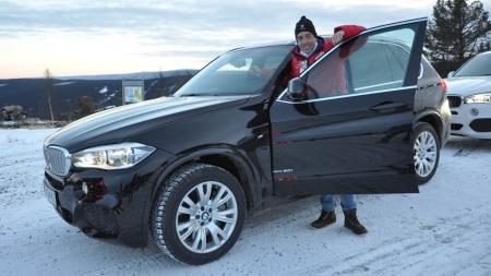 - Jeg kunne blitt vant med denne bilen, altså, sier langrennsløperen Eldar Rønning.
