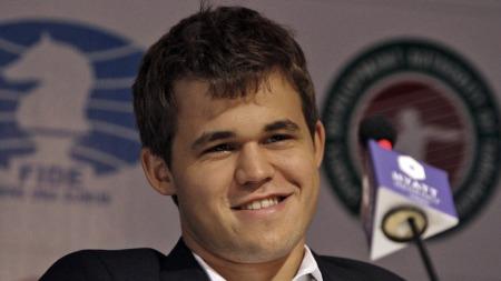 Magnus Carlsen (Foto: BABU, ©VM/rob)