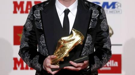 SCORET FOR GØY: Lionel Messis sesong var helt vanvittig. (Foto:   ALBERT GEA/Reuters)