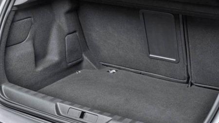 Peugeot 308 interiør bagasjerom