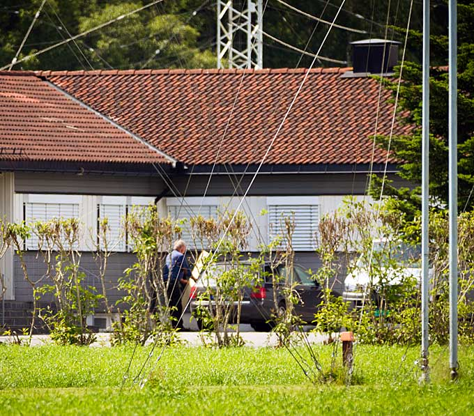 Under TV 2s besøk på eiendommen fikk vi forklart at lokalene   ble brukt til kursvirksomhet.