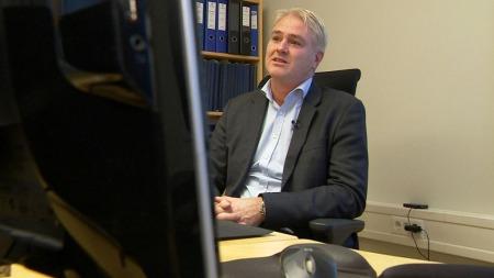 BEKYMRET:  Leder for taktisk etterforskning i Kripos, Eivind Borge, sier utviklingen er bekymringsfull.