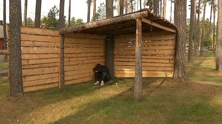 BODDE UTE: I en uke bodde Marius utendørs før han kom i kontakt med en katolsk hjelpeorganisasjon. (Foto: Pål Martin Rossing / TV 2)