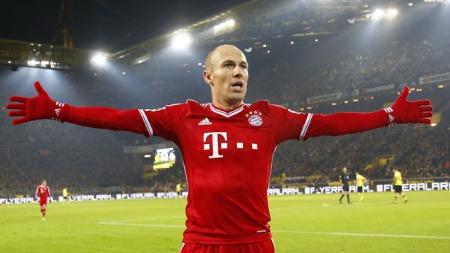 Arjen Robben (Foto: SCANPIX)