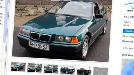 BMW 320i annonsen