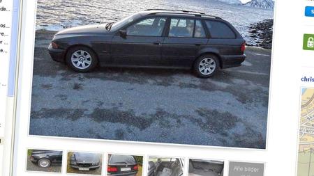 BMW 520i annonsen
