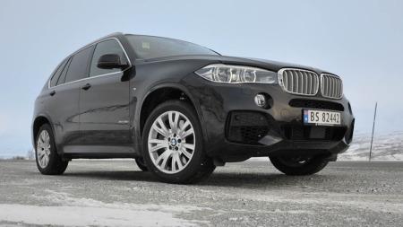 BMW X5 5.0i på fjellet