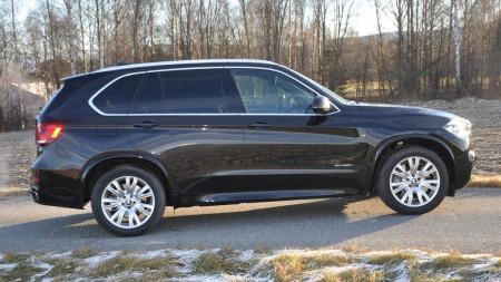 BMW X5 5.0i serie profilen