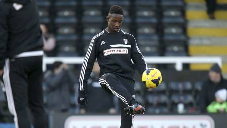 NY MOUSSA DEMBÉLÉ: Dette er Fulhams nyeste Moussa Dembélé-stjerneskudd. (Foto: John Walton/Pa Photos)