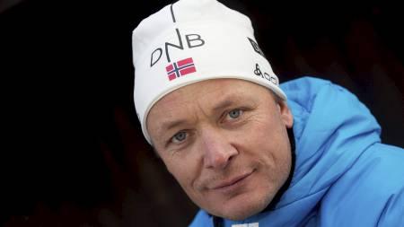 VIL IKKE MASE: Per-Arne Botnan vil ikke mase for mye på Ole Einar Bjørndalen om hva skiskytter-legenden skal gjøre etter karrieren. (Foto: Bendiksby, Terje/NTB scanpix)