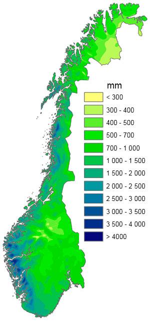 Nedbør i norge