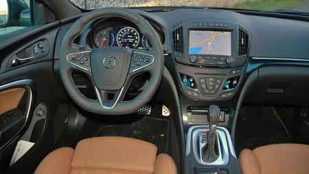 Opel har virkelig frisket opp Insignia-interiøret. Country Tourer er søkklastet med utstyr - og gir premiumfølelse innvendig.