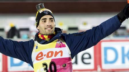 Martin Fourcade (Foto: TT NEWS AGENCY/Reuters)