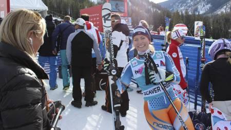 KLARTE OL-KRAVET: Ragnhild Mowinckel. (Foto: TV 2 Sporten/)