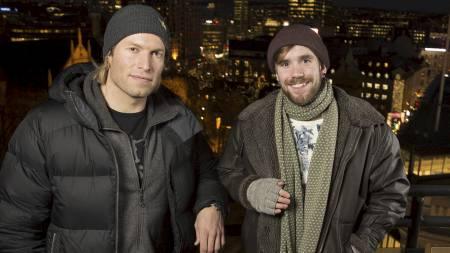 Andreas Ygre Wiig og Stian Blipp blir TV 2s snowboardduo under OL i Sotsji. (Foto: Espen-Solli.com/)