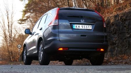 Honda-CR-V-bakfra-lav (Foto: Benny Christensen)